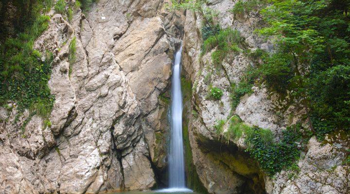 Агурские водопады Сочм
