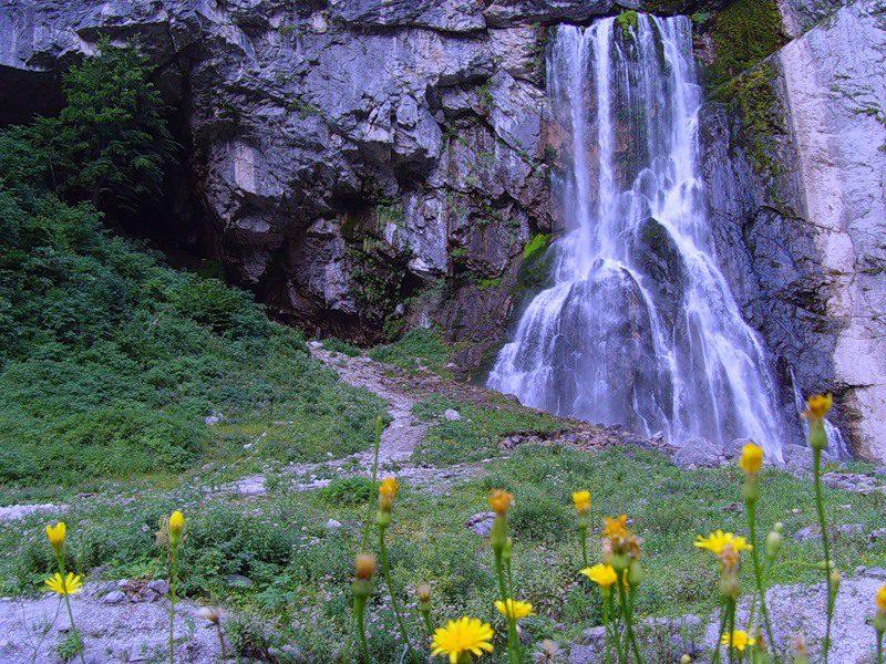 Гегский водопад Шерлок Холмс