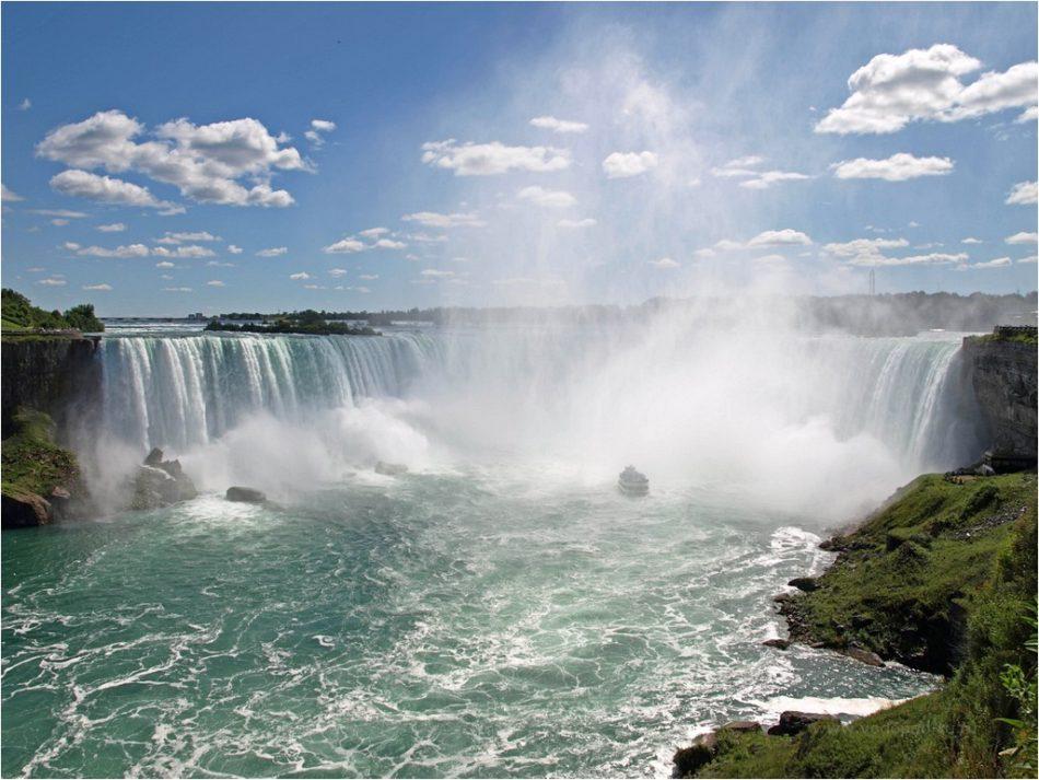 ниагарский водопад соединённые штаты америки