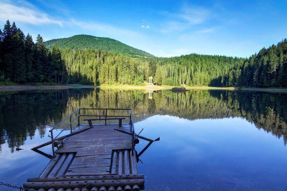 озеро синевир где находится