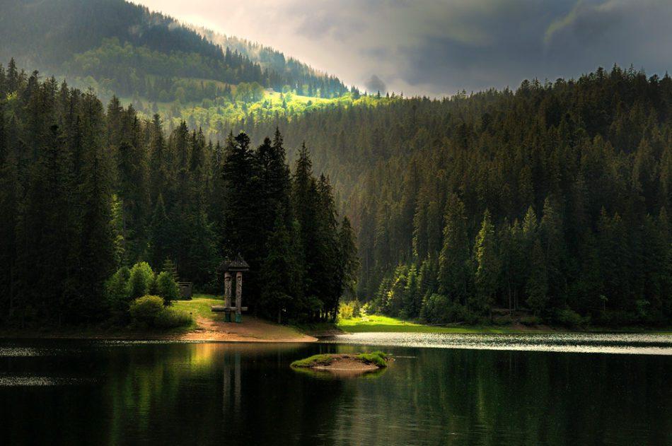 озеро Синевир Закарпаття фото