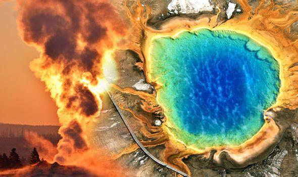 вулкан Йеллоустоун сегодня