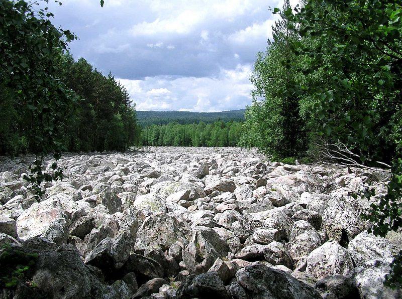 национальный парк таганай каменная река