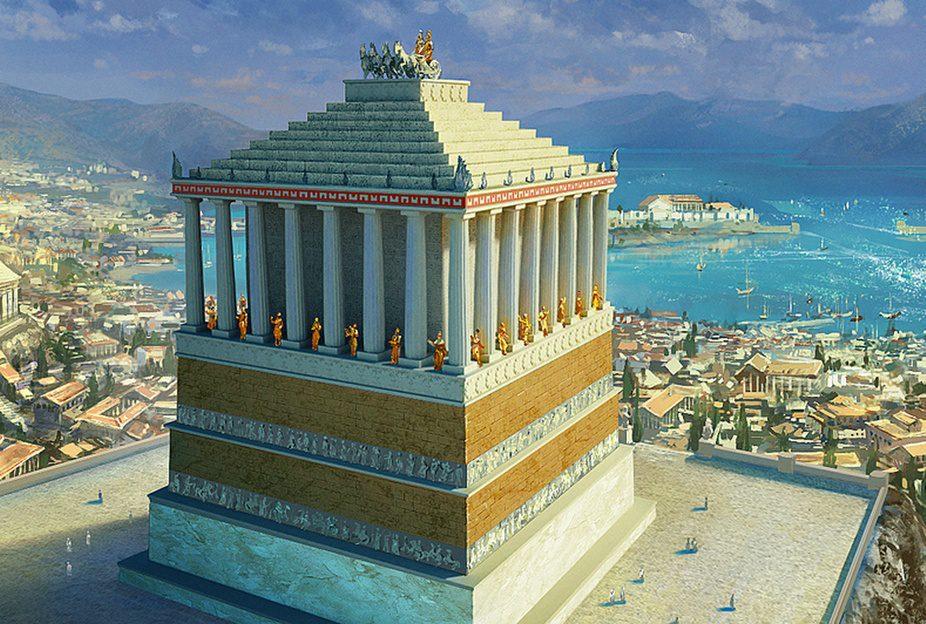 Мавзолей в Галикарнасе краткое описание