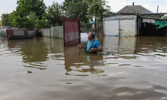 Наводнение в Ставрополе май 2017 видео
