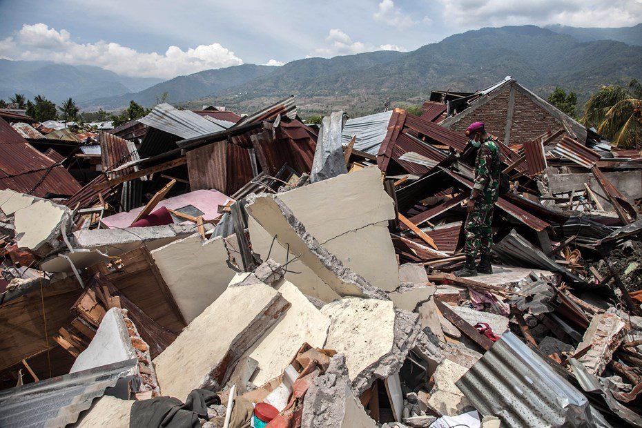 Цунами Индонезия 2018 видео город музыканты