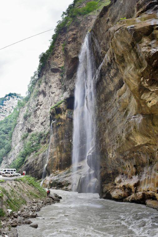 Чегемские водопады Кабардино-Балкария