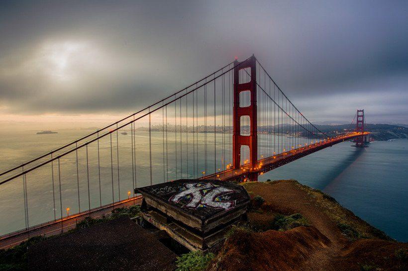 Мост Золотые ворота фото