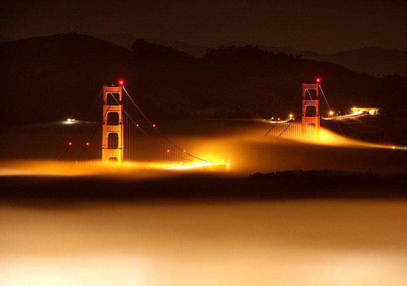 где находится мост золотые ворота