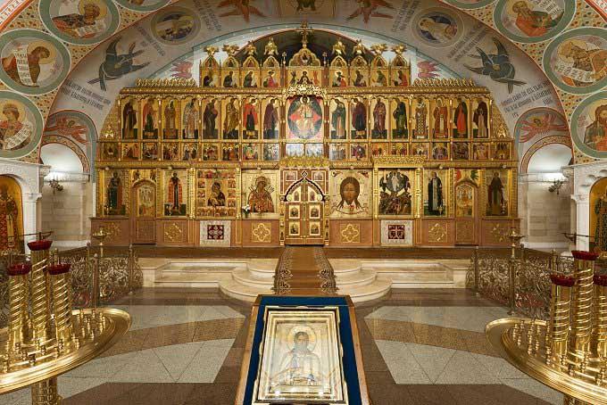Храм Христа Спасителя внутри