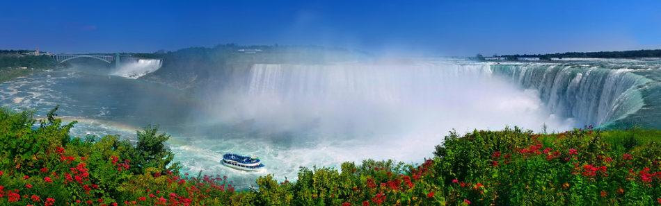 Ниагарский водопад на фото