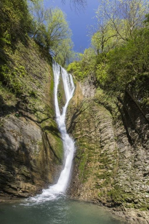 Ореховский водопад Краснодарский край