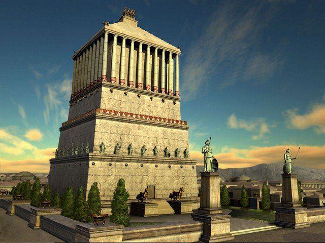 галикарнасский мавзолей краткое описание для доклада