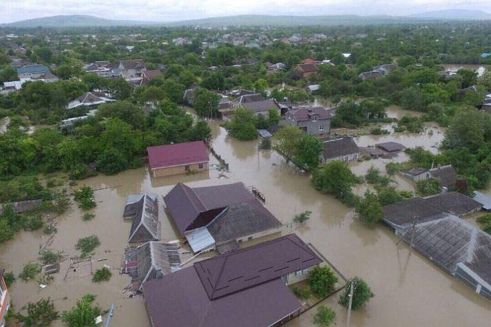 Наводнение в Ставрополе май 2017 фото