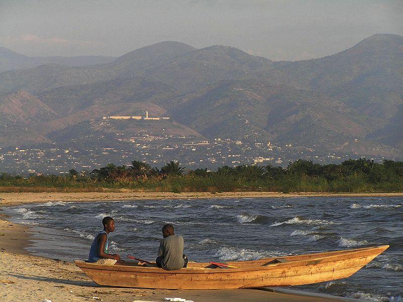 озеро Танганьика на карте мира и Африки