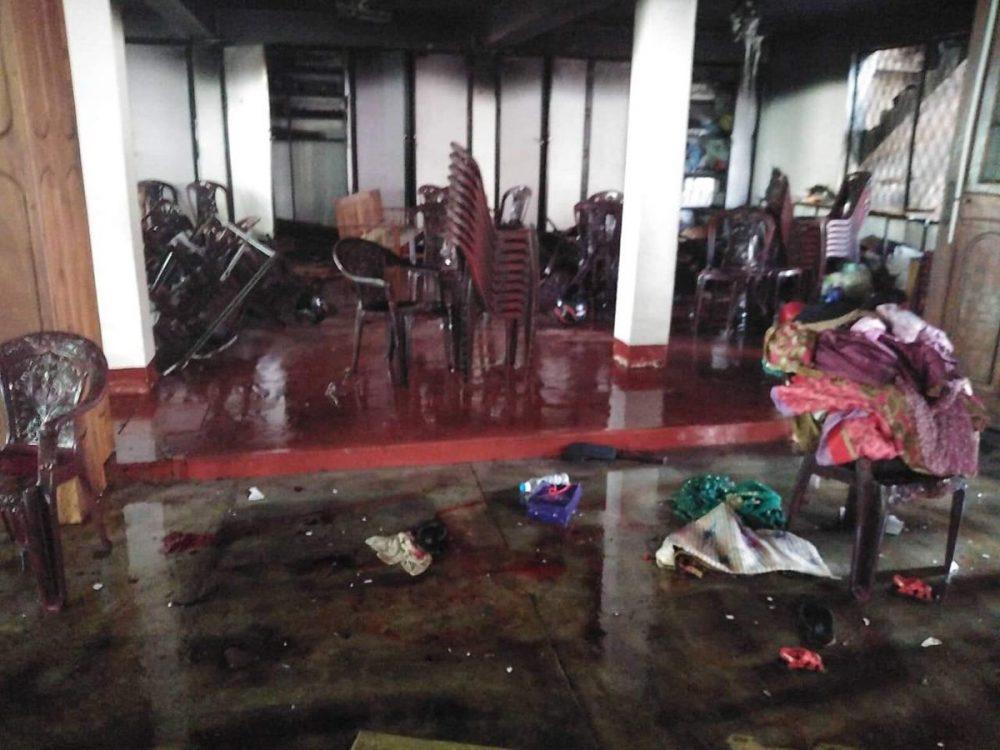 Шри-Ланка взрывы в церквях апрель 2019